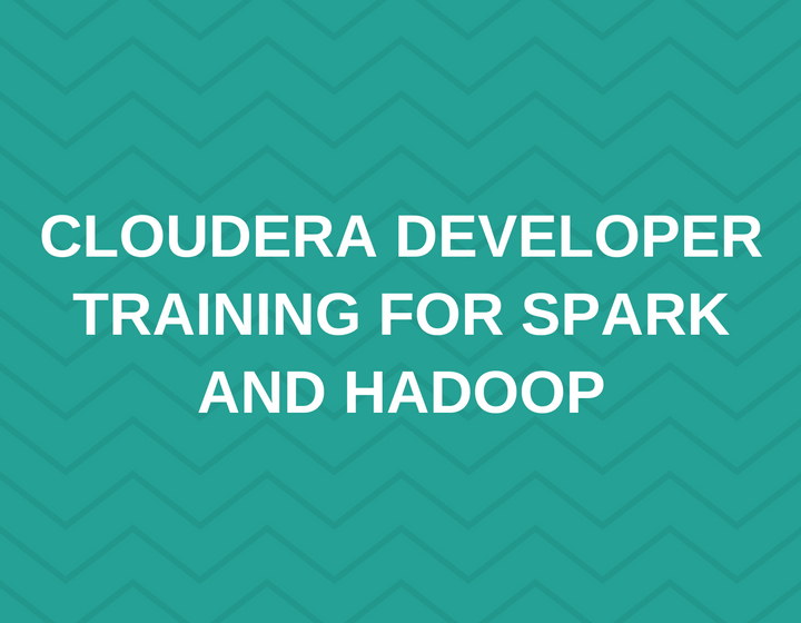 Developer Training for Spark and Hadoop