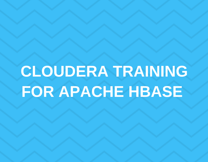 Cloudera Training for Apache HBase